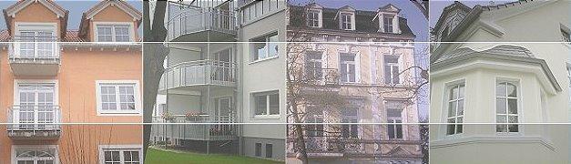 Stuckerteurarbeitet, Fassaden, Innenausbau